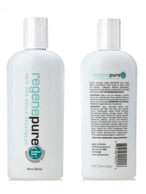 Regenepure DR Hair Care Products Hair care