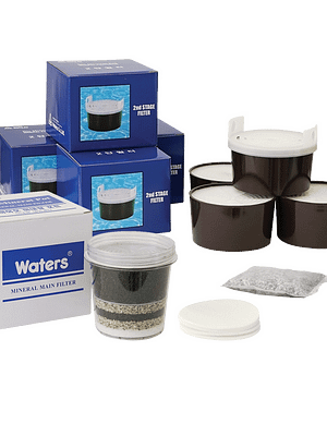 Bio 1100 Filter Replacement set Replacement Filters Mineral Water